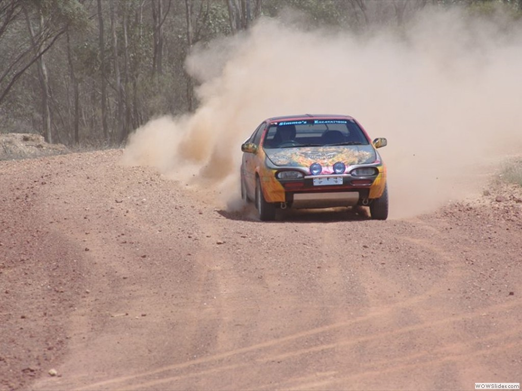 Tracey Simmonds at Bagshot Autocross in Bendigo