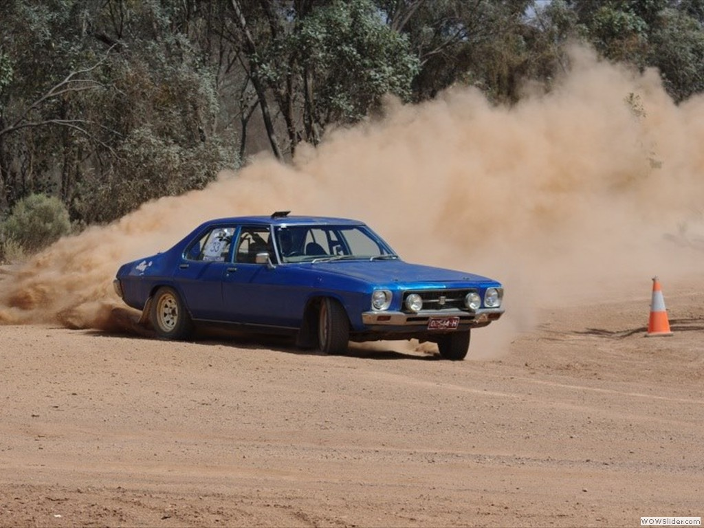 Luke Nicholls at Bagshot Autocross in Bendigo