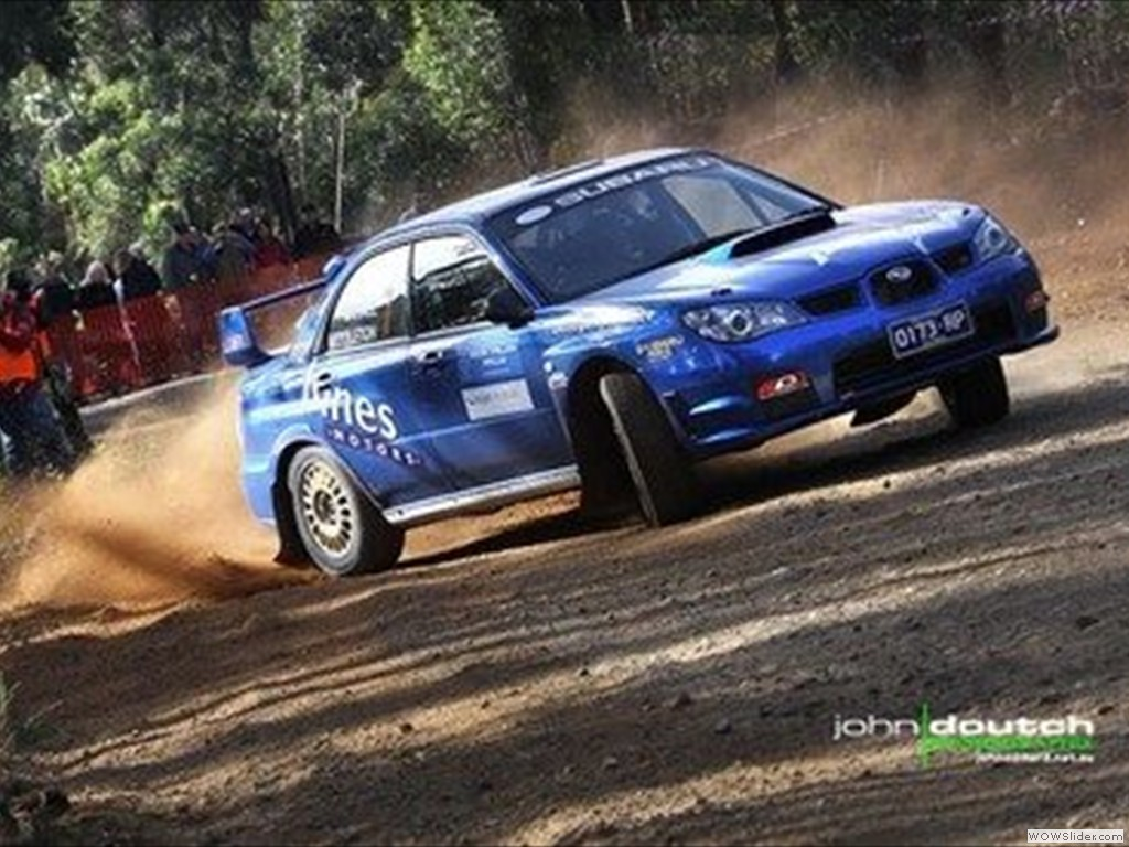 Tristan Penhall & Jolie Middleton at Bega Valley Rally