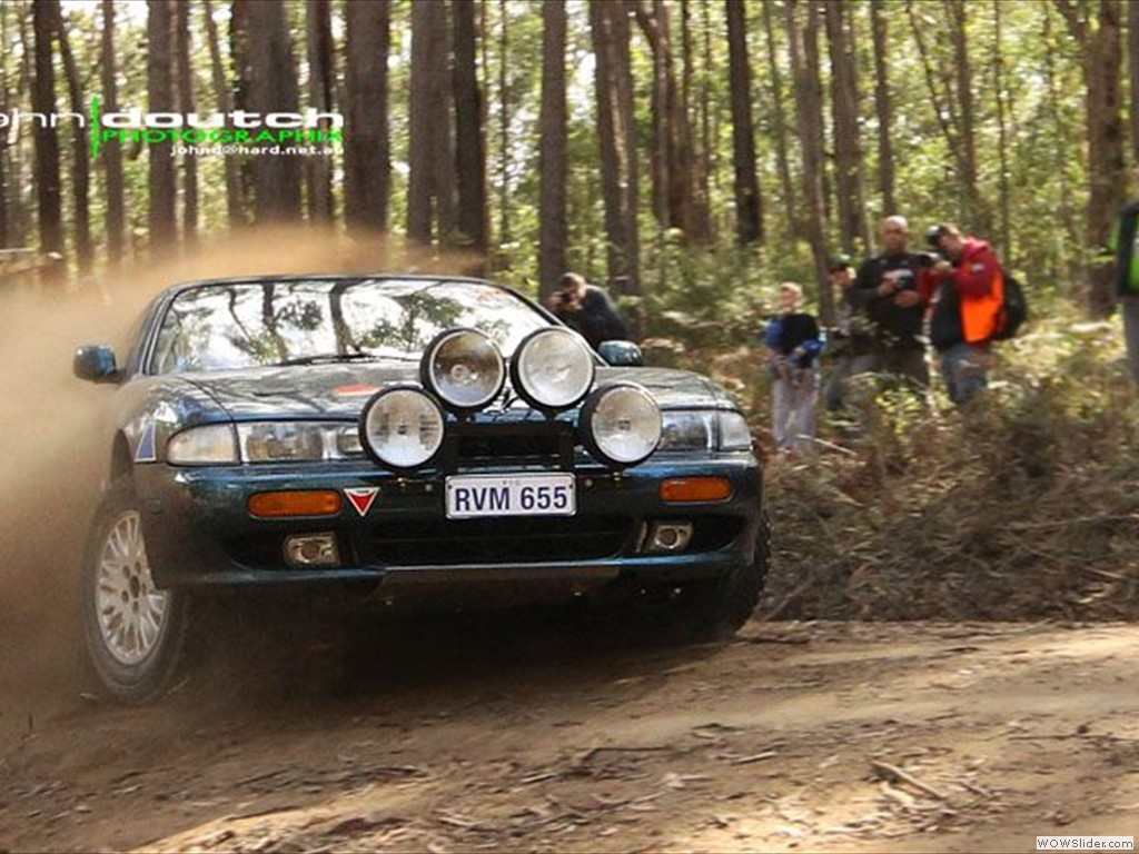 Andrew Kavanagh & Tom Ruessman at East Gippsland Stages