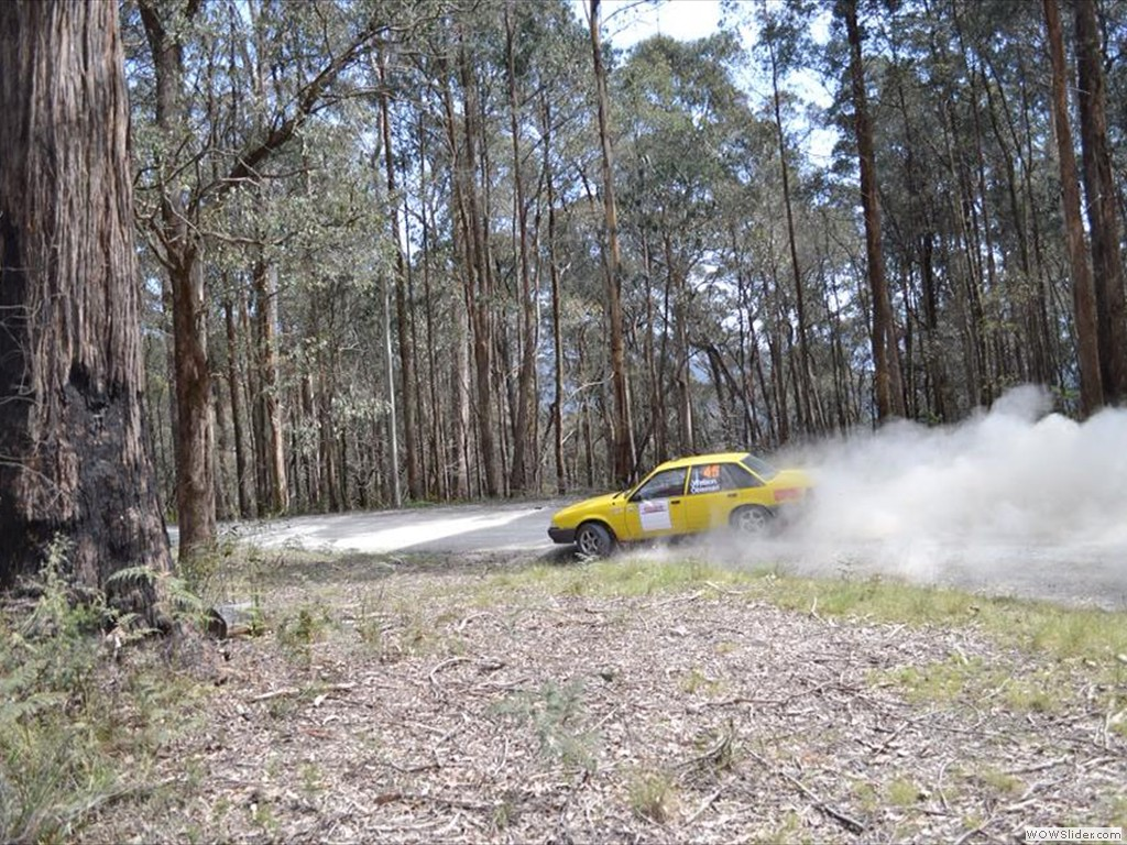 Jeremy Coleman at Bega Valley Rally