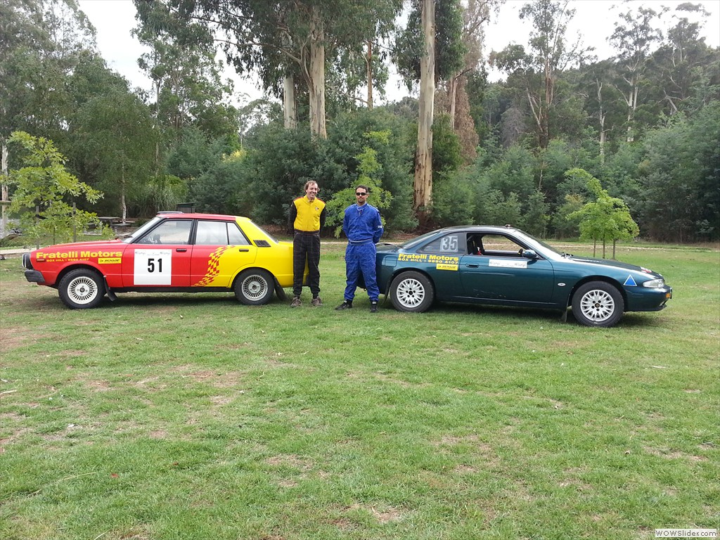 CCC's Fratelli Motors Team at Marysville Stages