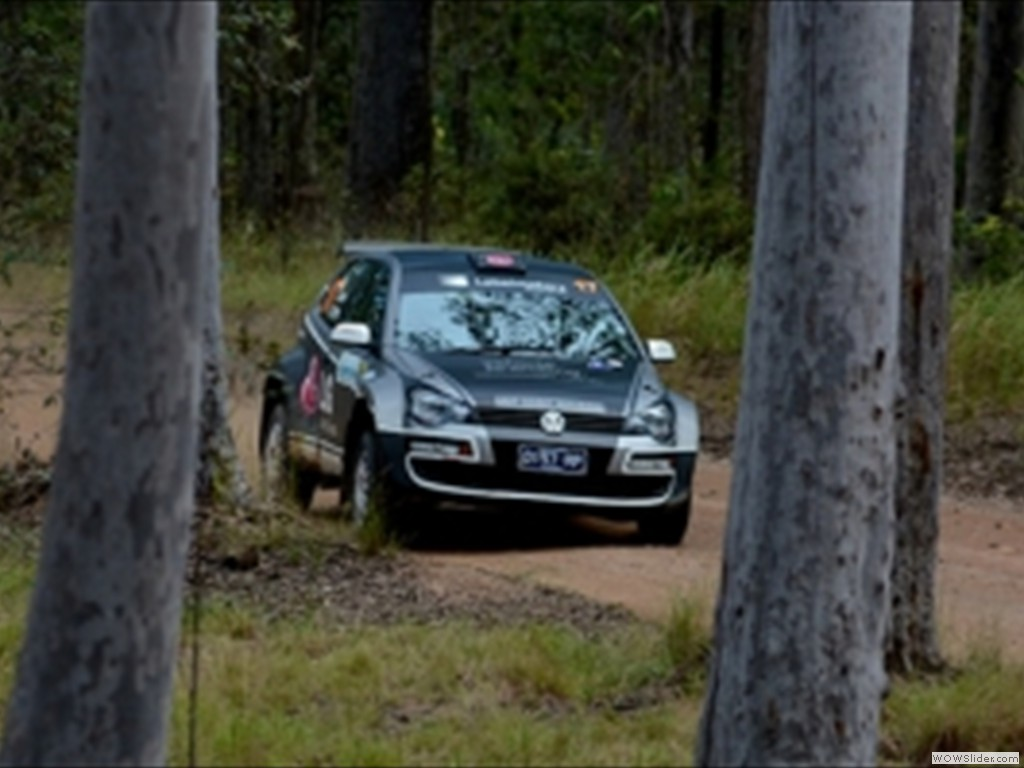 Justin Dowell & Sue Evans at Rally Queensland