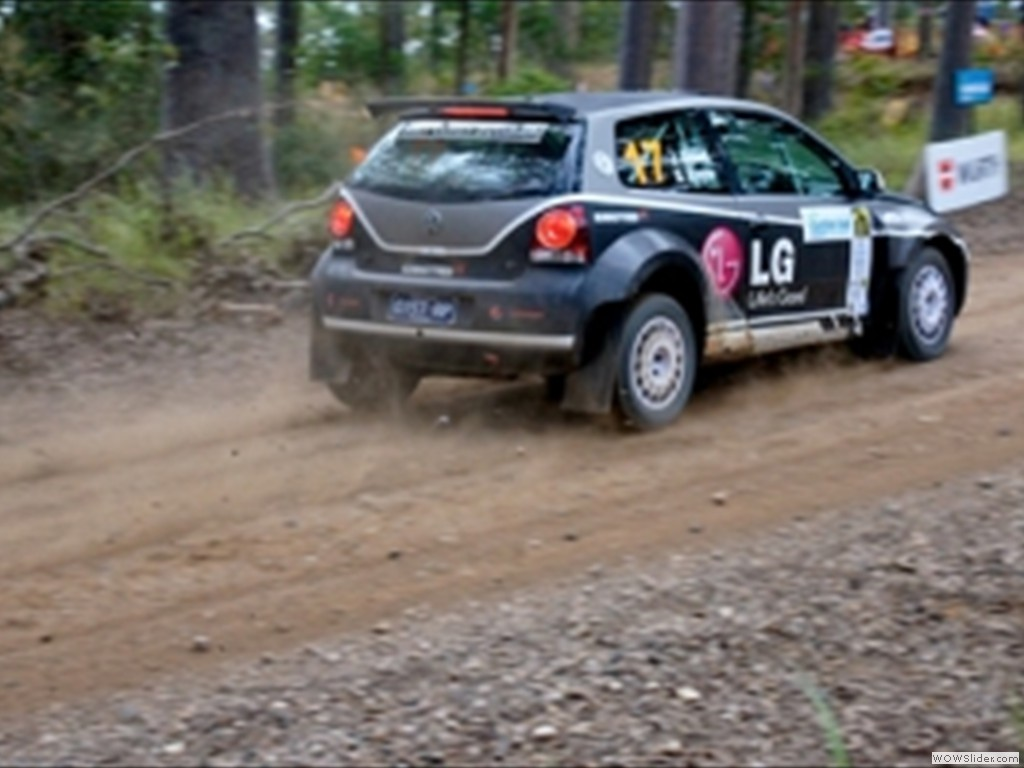 Justin Dowell & Sue Evans Rally Queensland